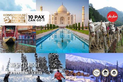 paket tour surabaya india