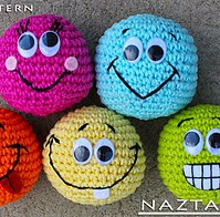 http://www.ravelry.com/patterns/library/basic-beginner-amigurumi-smiley-face-ball