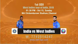 Who will win Today ODI Prediction, 1st Match WI vs Ind - Cricfrog