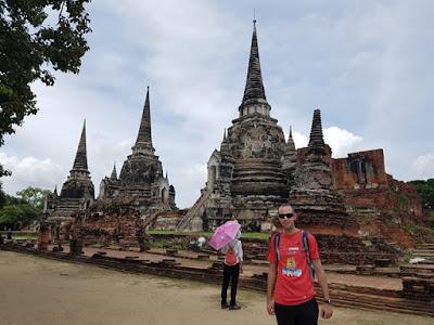 Zona histórica de Ayutthaya