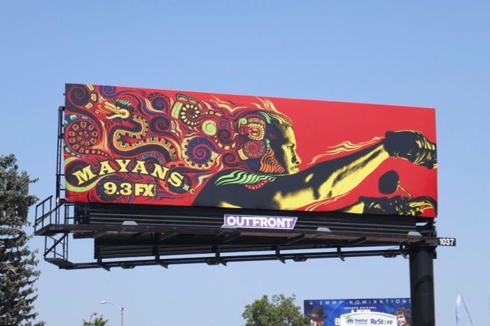 Mayans MC season 2 billboard
