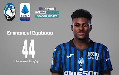 PES 2021 Faces Emmanuel Gyabuaa by CongNgo