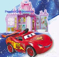 Logo Sogna con Mellin: vinci macchine Cars e castelli Disney Princess