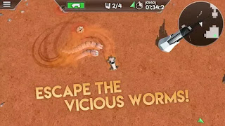 Desert Worms Android Game