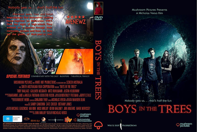 Boys In The Trees DVD Cover