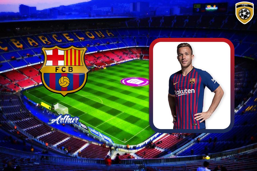 Arthur (Barcelona) ~ Habilidades Pro Evolution Soccer
