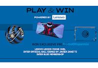 """Concorso """"Play&Win with Lenovo """" : vinci gratis 534 premi firmati Inter e Lenovo"""