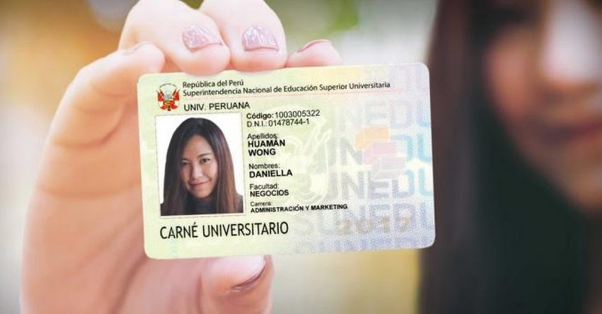 SUNEDU aprueba nueva vigencia de carné universitario hasta el 31 de agosto 2018 - www.sunedu.gob.pe