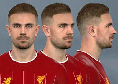 PES 2017 Faces Jordan Henderson by WER Facemaker