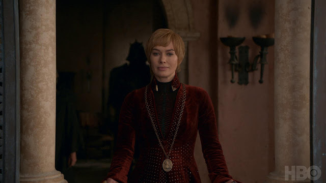 cersei lanister in episode 5 season 8 of game of thrones