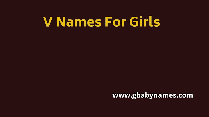 V Names For Girls