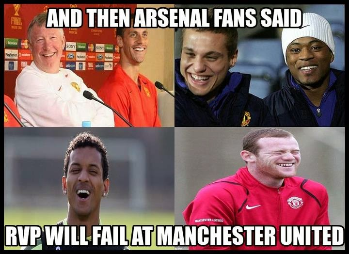 Funny Arsenal Football Pictures 2014