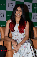 Bollywood Actress Adah Sharma Pos in White Printed Short Dress at OPPO F3 Plus Selfie Expert Mobile Launch .COM 0010.jpg