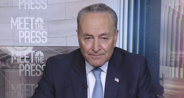 Schumer: Trump's 'temper tantrum' over wall funding is leading to shutdown
