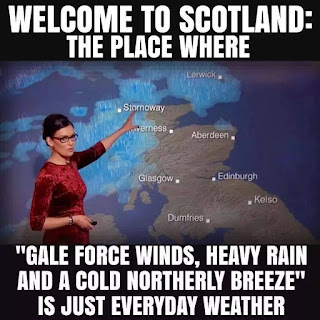 Scottish Weather Joke