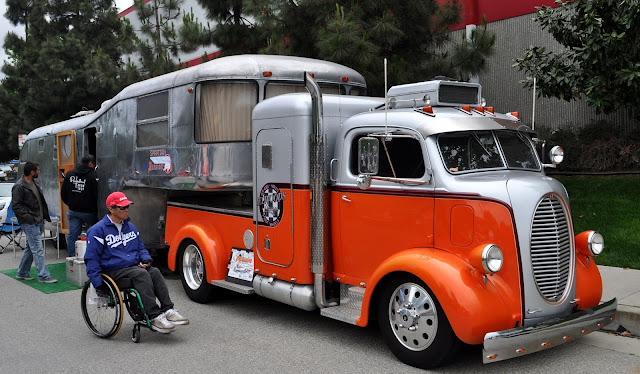Just A Car Guy Most Impressive Hot Rod Truck And Trailer