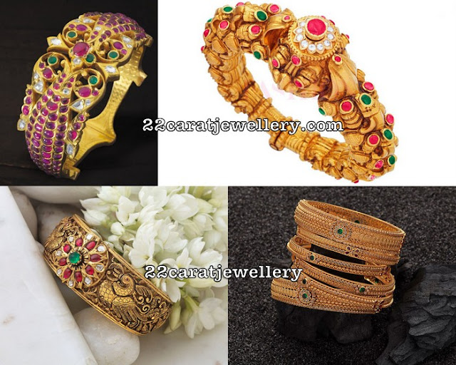 Antique Classic Bangles and Kada in Uncuts