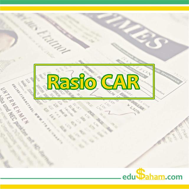 Rasio CAR Perusahaan Bank di BEI Tahun 2013