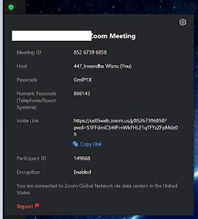 Cara Mengetahui ID Meeting, Passcode, dan Invite Link Zoom Meeting