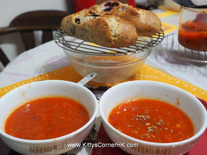 Tomato Onion Soup DIY recipe 蕃茄洋蔥湯 自家食譜