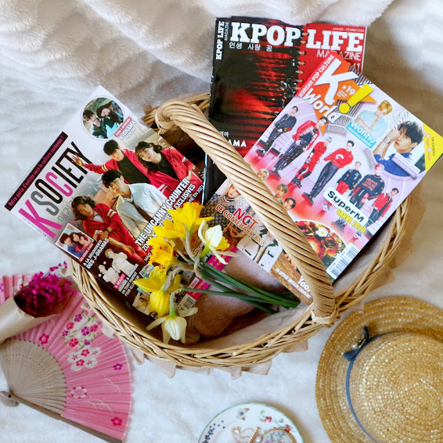 Mes magazines sur la Corée