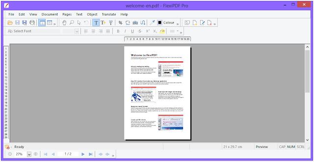 Screenshot FlexiPDF Pro 2.0.5 Full Version