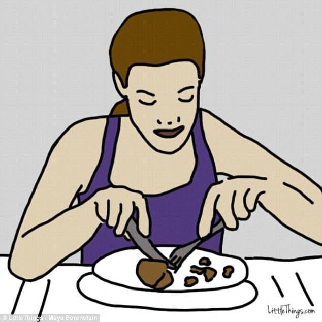 Τα άτομα που προετοιμάζουν το φαγητό τους
