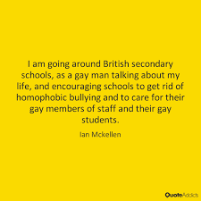 i am going arounder brithish secondary school, as a gay man talking about my life, and encouraging school to get rid of homophobic bullying and to care for their gay members of staff and their gay students.