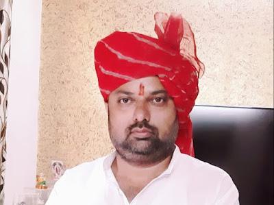 Akhil Bhartiya Chatriya Mahasabha Delhi President Sandeep Thakur