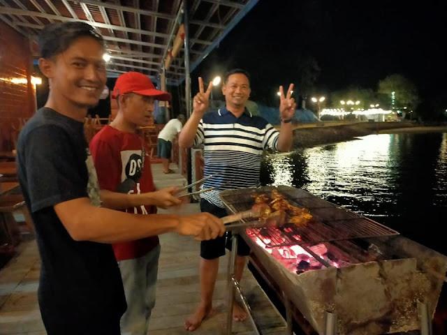 BBQ di Pulau Labun