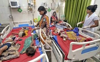 Bihar : मौत का बुखार नितीश कुमार लाचार