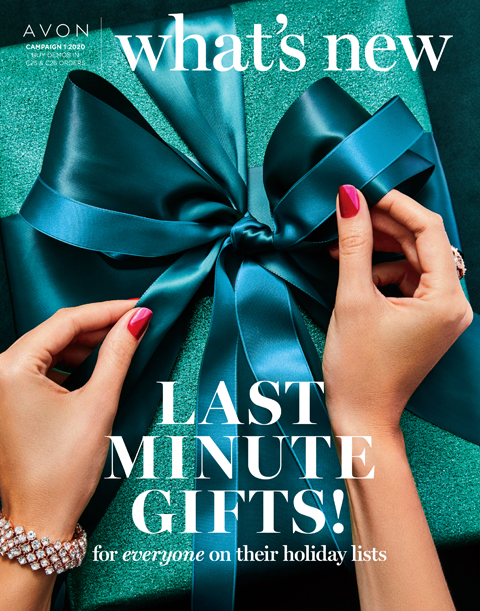 What's New Avon Campaign 1 2020 - Last-Minute Gifts!