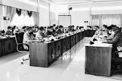 Rapat Kerja Pembahasan pertanggungjawaban APBD 2020 bersama DPRD Sekadau, Sejumlah OPD tidak Hadir