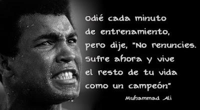 Lo Que Paso Hoy 20 Frases De Muhammad Ali Que Son Lecciones