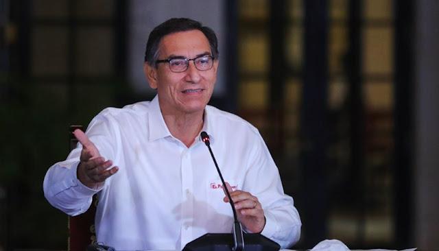 Presidente Vizcarra saluda a todos los padres del Perú