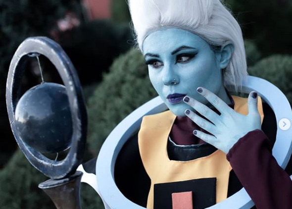Dragon Ball Rocks The Heavens With This Heavenly Whis Cosplay