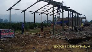 Kolonel Purwadi Harapkan Pembangunan TPS-3R di Desa Cikembang Berjalan Baik dan Lancar