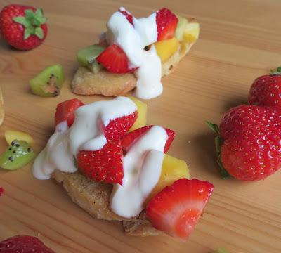 Fresh Fruit Bruschetta
