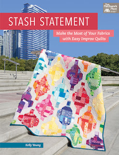Stash Statement by Kelly Young | DevotedQuilter.blogspot.com
