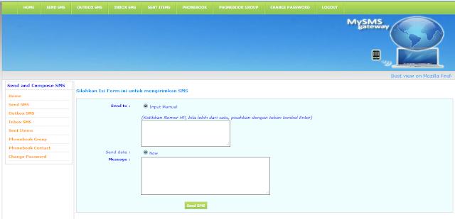 SMS GAteway PHP, Codeigniter