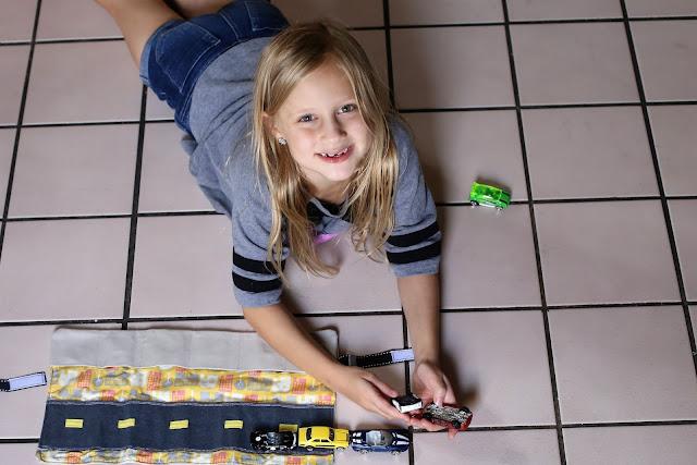 Travel Toy Car Mat