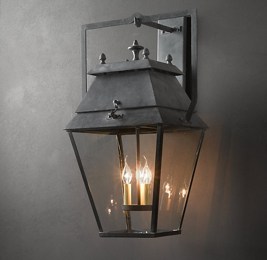 Design Dump Exterior Lights