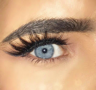 Blue Eyes False Lashes Eylure No 121 Definition Lashes