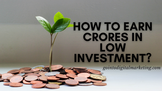 How to earn crores in low investment?