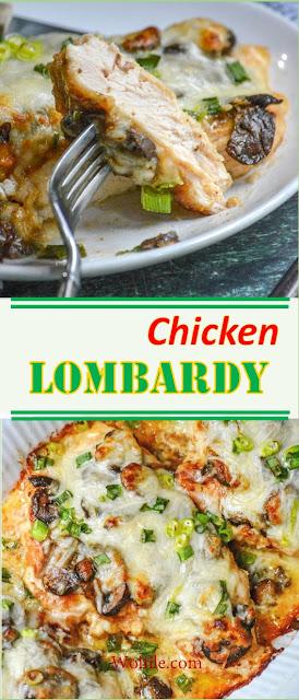 CHICKEN LOMBARDY #Chicken