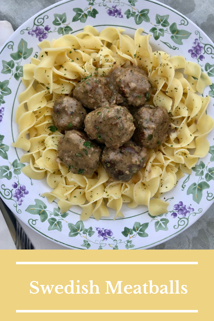 Swedish meatballs are a delicious and comforting dish. The spices and flavors make them perfect for around the winter holidays, or any winter evening where you want a warming and hearty meal.