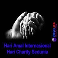 hari charity amal sedunia internasional