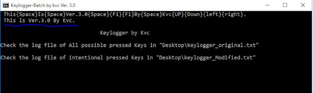 Keylogger Ver.3.0 | By Kvc