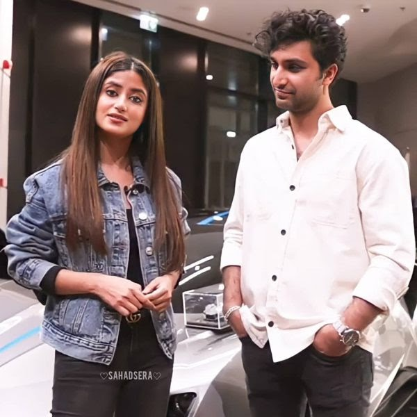 Ahad Raza Mir and Sajal Aly Dubai pictures