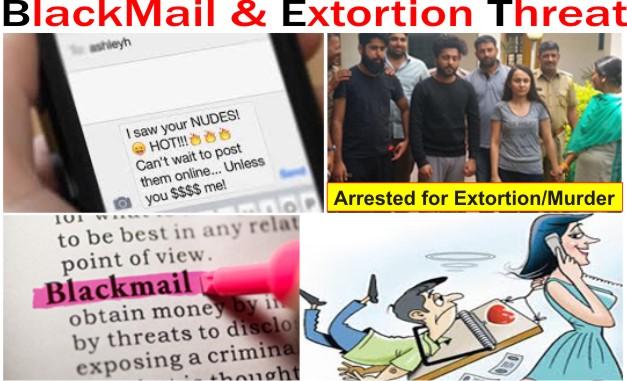 Blackmail & Extortion Threat to File False Rape Case